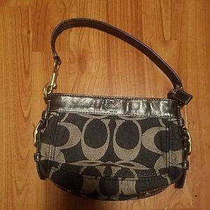 Coach Signature handbag small